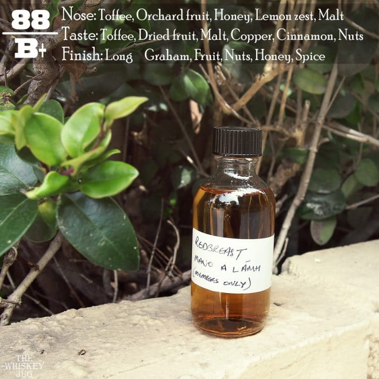 Redbreast Mano A Lamh Review