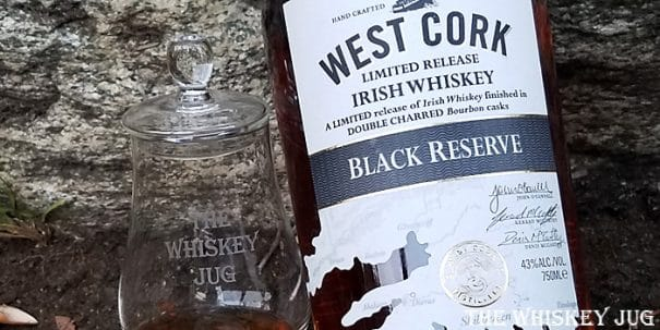 West Cork Black Reserve Label