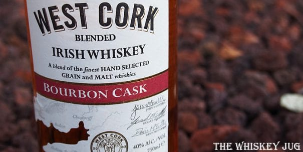 West Cork Bourbon Cask Irish Whiskey Label