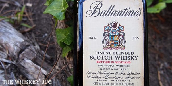 1980s Ballantine's Label