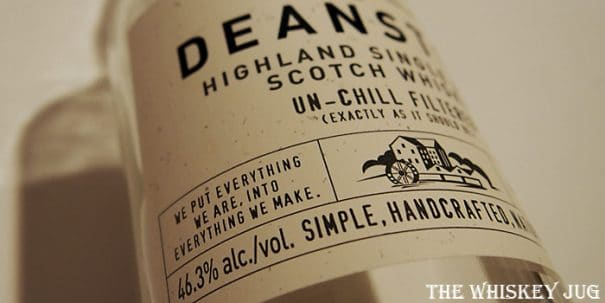 Deanston Virgin Oak Label