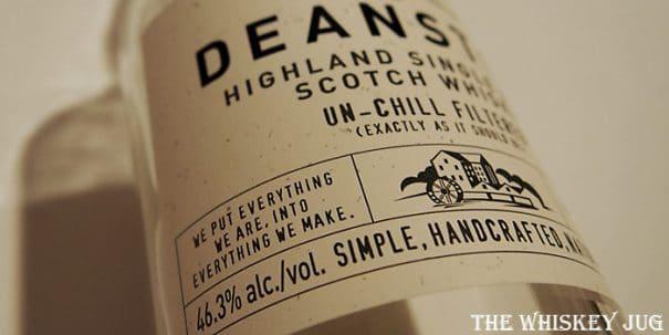 Deanston Virgin Oak Label