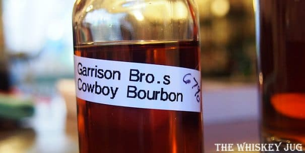 Garrison Bros Cowboy Bourbon Label