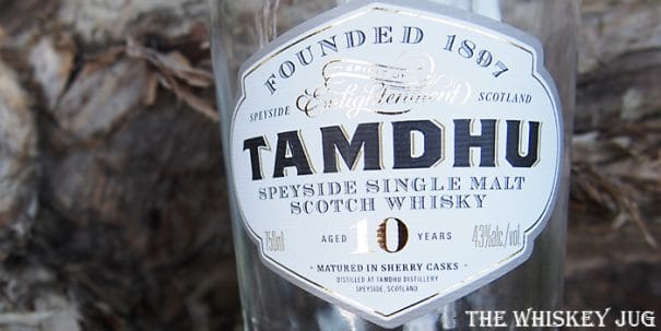 Tamdhu 10 Years Label