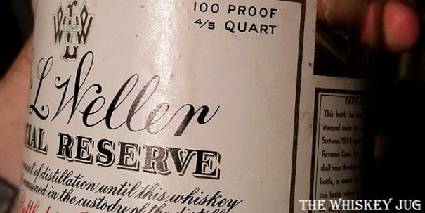 1952 Weller Reserve Label
