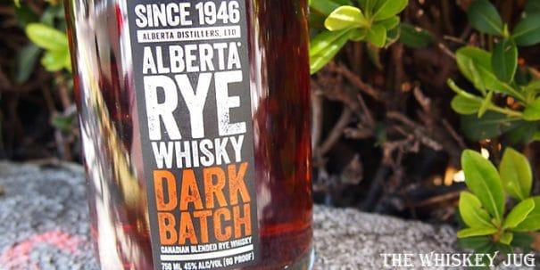Alberta Dark Batch Rye Label