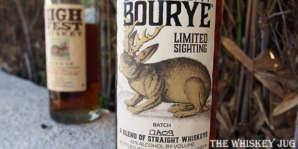 High West Bourye Limited Sighting Label