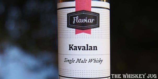 Kavalan Single Malt Label