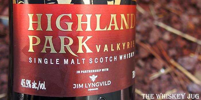 Highland Park Valkyrie Label