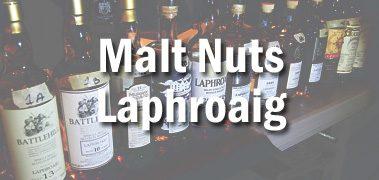 Malt Nuts Laphroaig Tasting