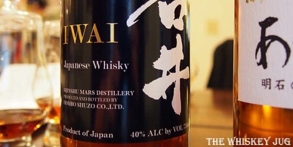 Mars Iwai Whisky Label