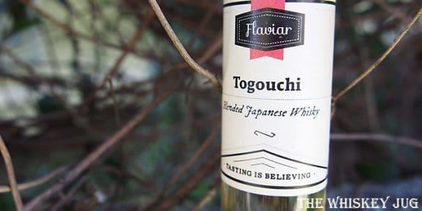 Togouchi Blended Japanese Label