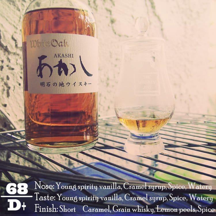 White Oak Akashi Blended Whisky Review