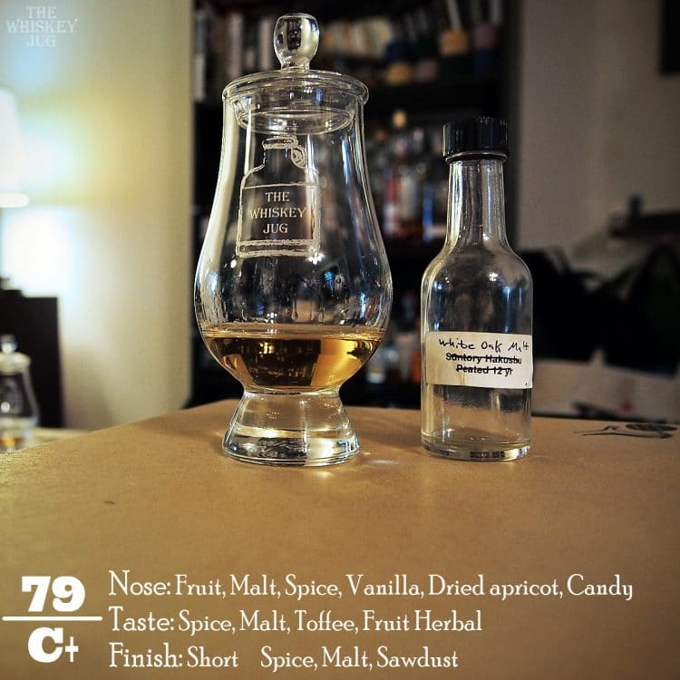 White Oak Akashi Single Malt Review