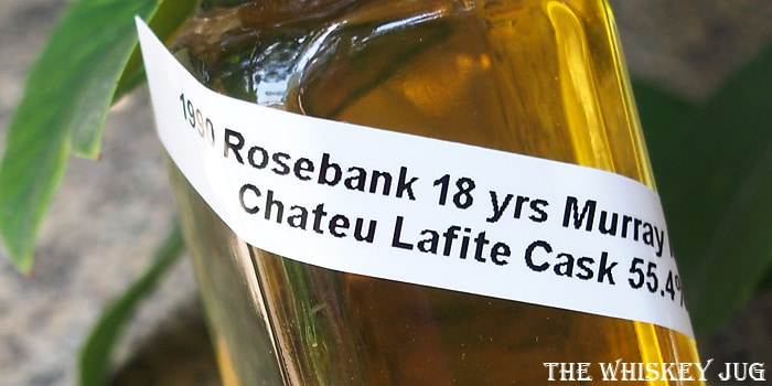 1990 Rosebank 18 years Murray McDavid Label
