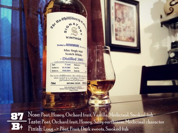 2002 Signatory Bowmore 11 Years Review