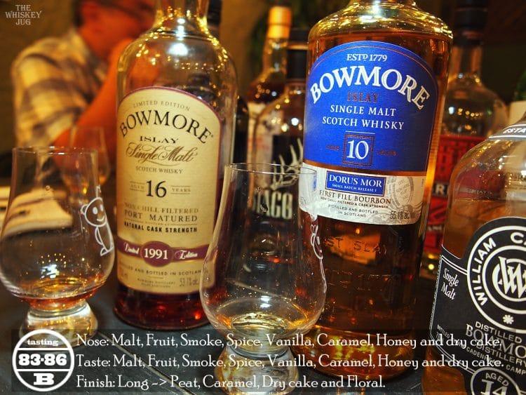 Bowmore Dorus Mor 10 Years Review