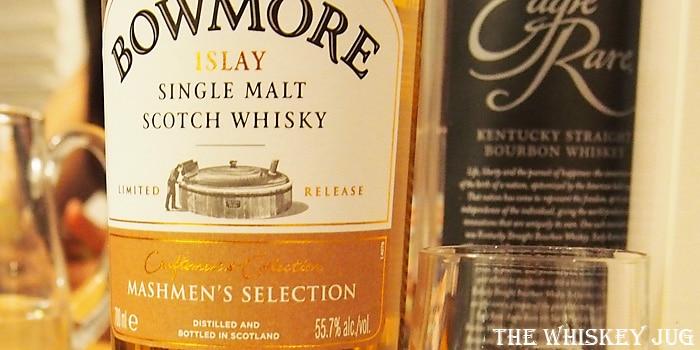 Bowmore Mashmen's Selection Label