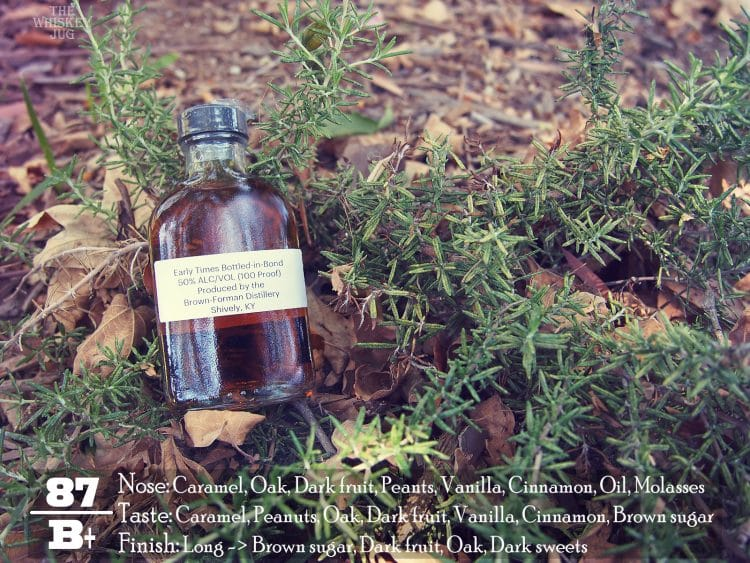 Early Times Bottled In Bond Rreview