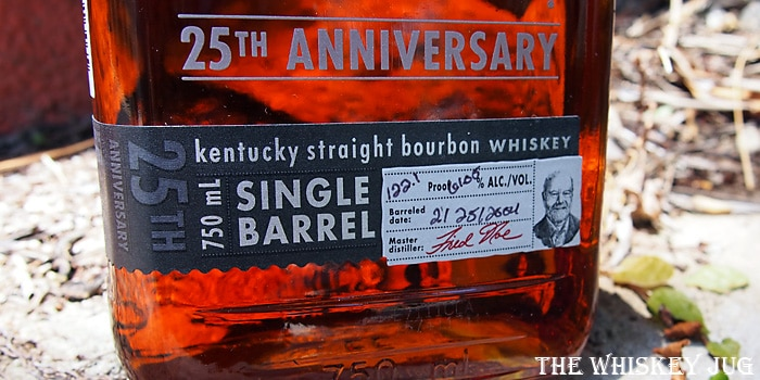 Knob Creek 25th Anniversary Label