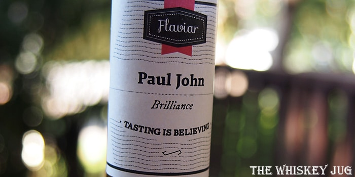 Paul John Brilliance Single Malt Label
