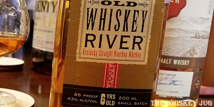 Old Whiskey River Label