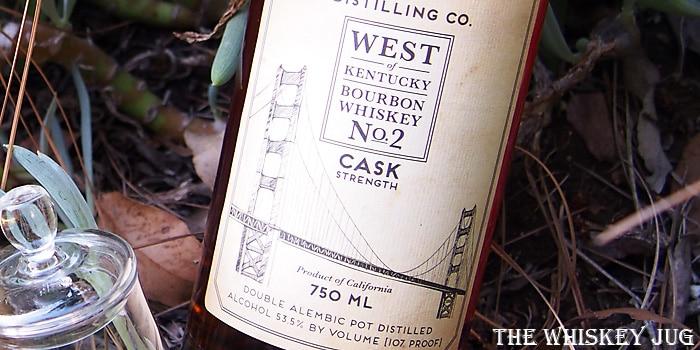 Sonoma West of Kentucky Bourbon 2 Label