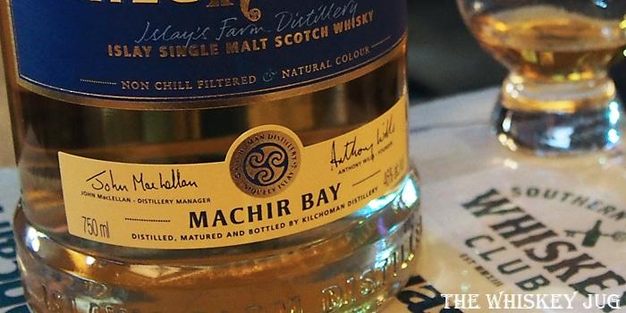 Kilchoman Machir Bay 2017 Label