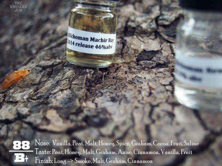 Kilchoman New Make vs Machir 2014 - Machir 2014 Notes