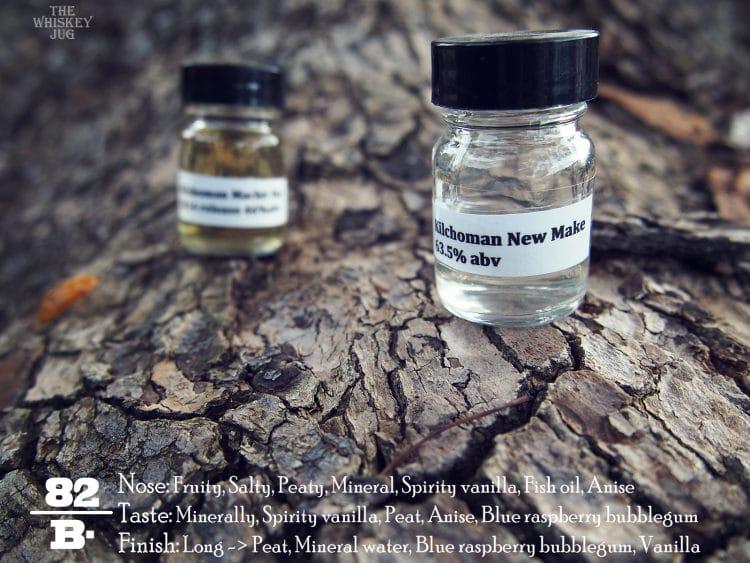 Kilchoman New Make vs Machir 2014 - New Make Notes