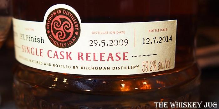 Kilchoman PX Finish Label