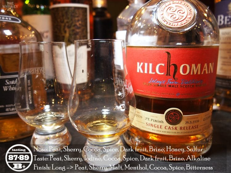 Kilchoman PX Finish Review