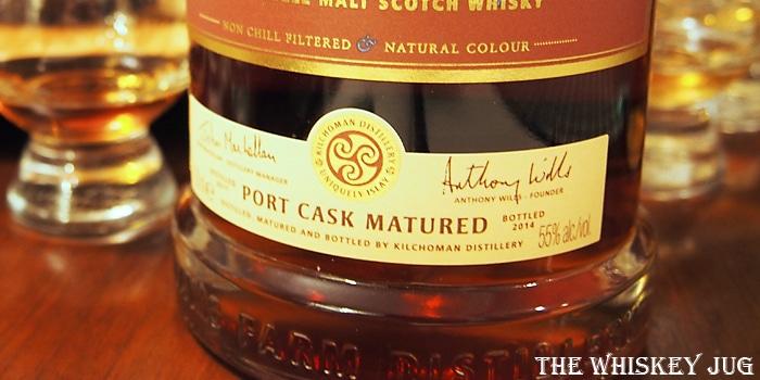Kilchoman Port Cask Label
