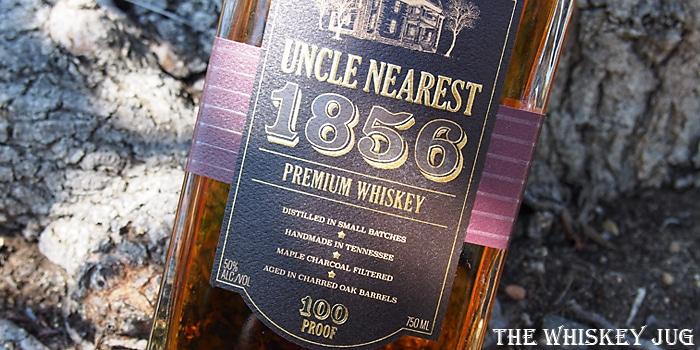 Uncle Nearest 1856 Label