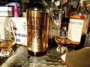 Wild Turkey Cheesy Gold Foil Review