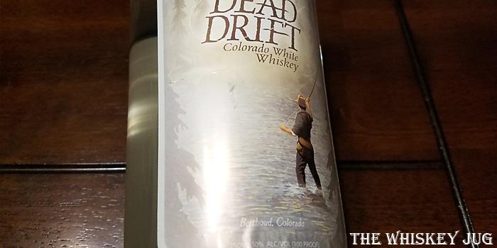 Dead Drift Colorado White Whiskey Label