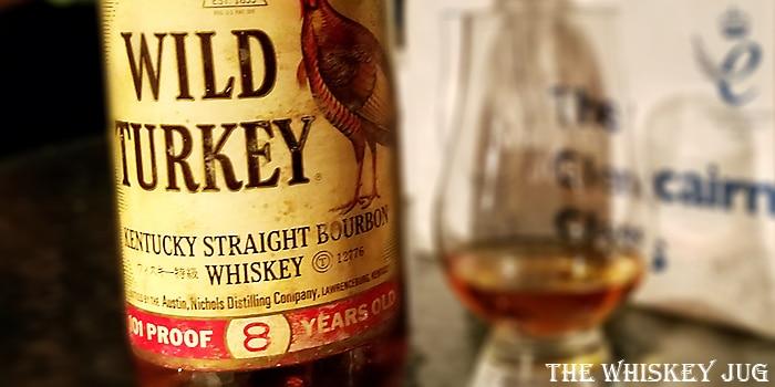Wild Turkey 8 years Label