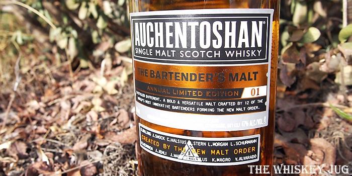 Auchentoshan Bartender's Blend Label
