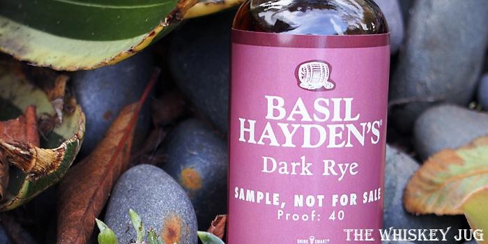 Basil Hayden's Dark Rye Label