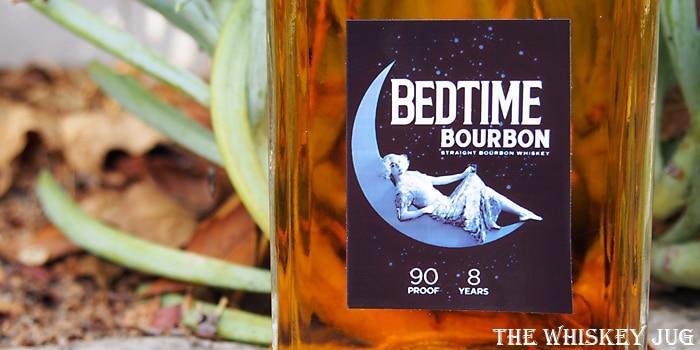 Bedtime Bourbon Label
