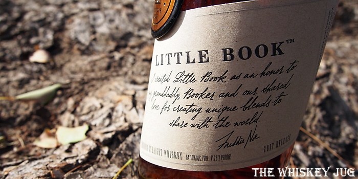 Little Book The Easy Whiskey Label