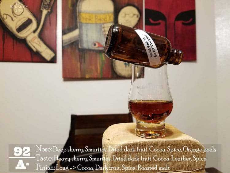 Macallan Cask Strength 10 Years Review