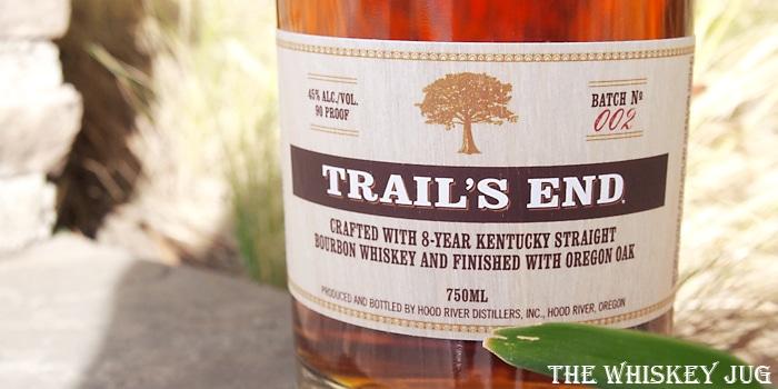 Trail's End Bourbon Label