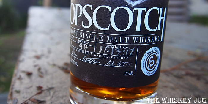 Hopscotch Vermont Single Malt Label