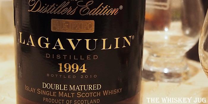 Lagavulin Distillers Edition 1994 Label