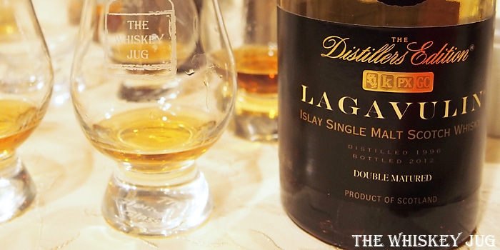 Lagavulin Distillers Edition 1996 Label