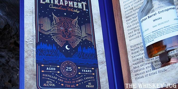Orphan Barrel Entrapment Label