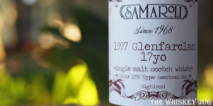 Samaroli 1997 Glenfarclas 17 Years Label