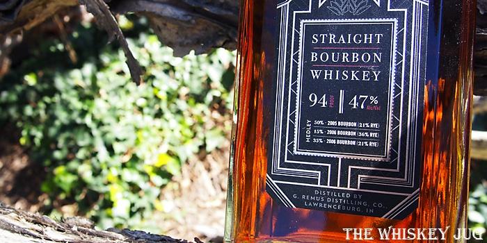 Remus Repeal Reserve Bourbon Label
