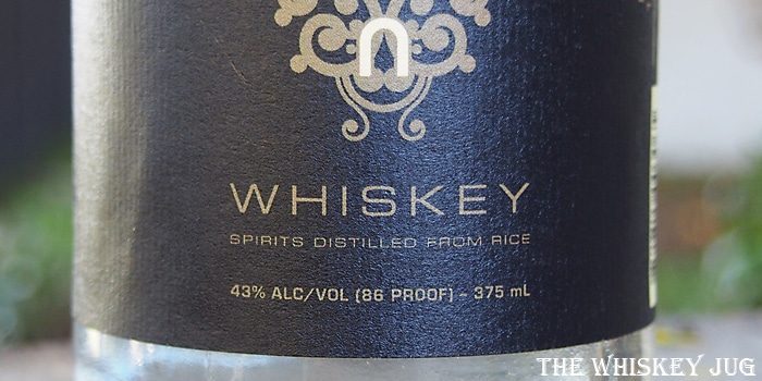 Vinn Rice Whiskey Label